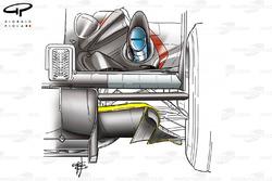 Minardi PS03 diffuser