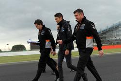 Естебан Окон, Sahara Force India F1, гоночний інженер Sahara Force India Бредлі Джойс