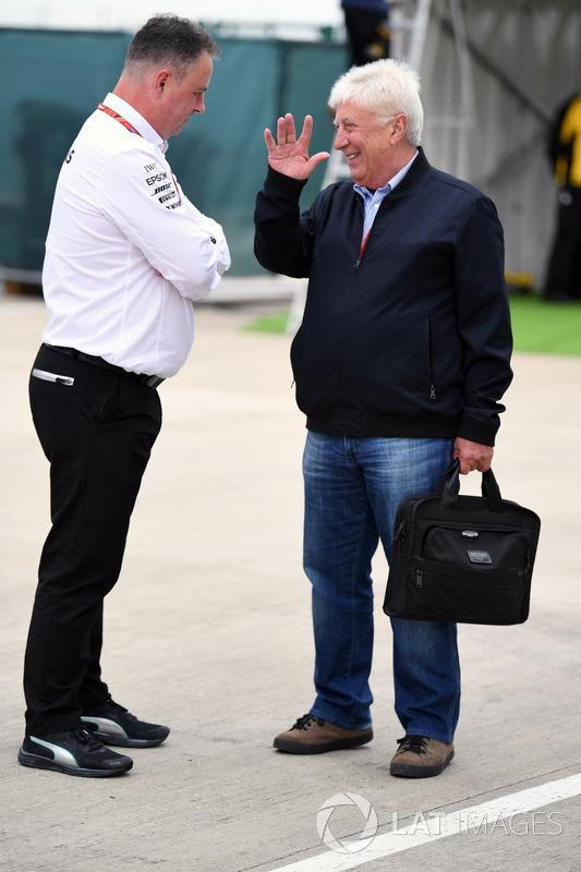 Командний менеджер Mercedes AMG F1 Рон Мідоус, Хербі Блаш