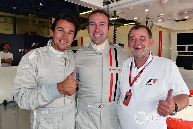 Simon Lazenby, Paul Stoddart, F1-Doppelsitzer