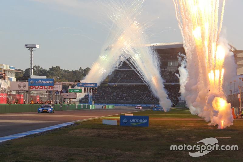 Ganador de la carrera Edoardo Mortara, Audi Sport Team Abt Sportsline, Audi RS 5 DTM