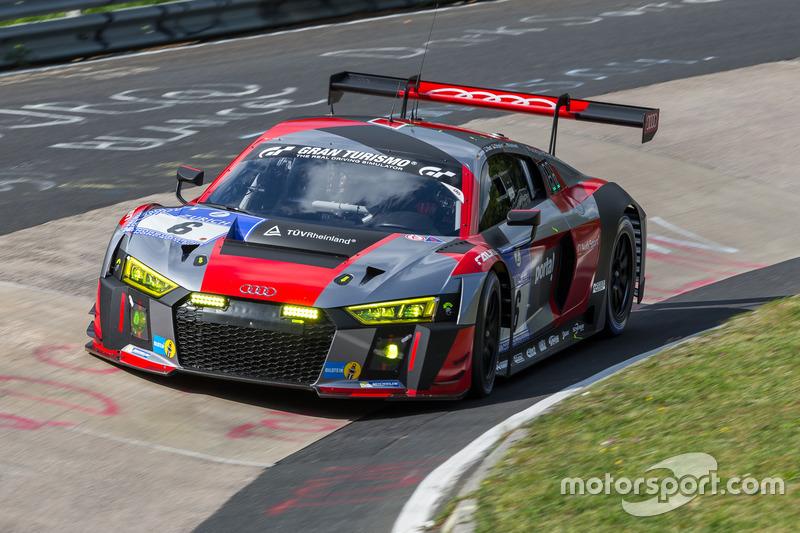 Audi Sport Team Phoenix Audi R LMS Christopher Haase René Rast - Audi phoenix