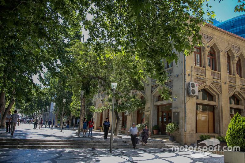Vista genreal de Bakú