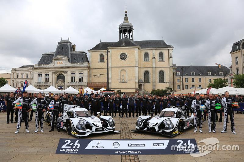 #31 Extreme Speed Motorsports Ligier JS P2 Nissan: Райан Далзіл, Кріс Каммінг, Піпо Дерані і #30 Ext