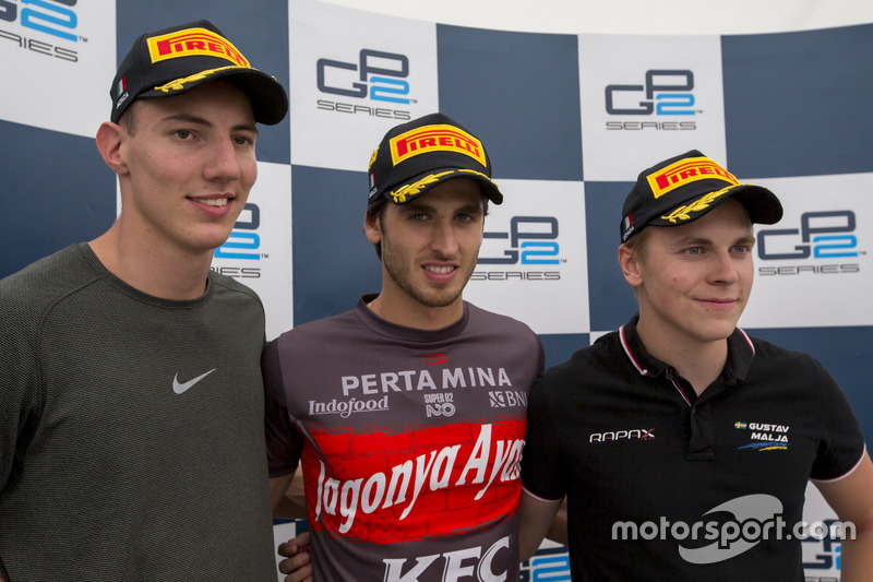 Raffaele Marciello, RUSSIAN TIME, Antonio Giovinazzi, PREMA Racing, Gustav Malja, Rapax