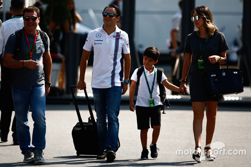 Felipe Massa, Williams ve ailesi