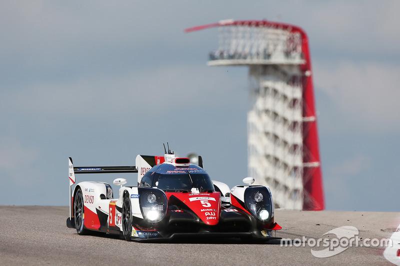6. LMP1: #5 Toyota TS050: Sébastien Buemi, Kazuki Nakajima, Anthony Davidson