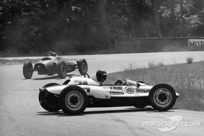 Dr. Helmut Marko in der Formel Vau 1968