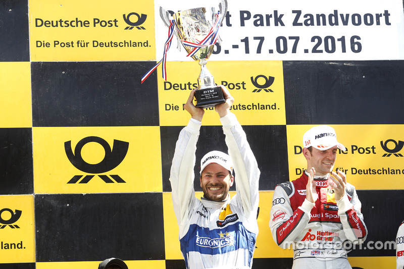 Podium: second place Gary Paffett, Mercedes-AMG Team ART, Mercedes-AMG C63 DTM