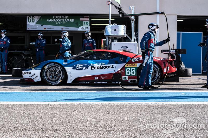 #66 Ford Chip Ganassi Racing Team, UK Ford GT: Billy Johnson, Stefan Mücke, Olivier Pla