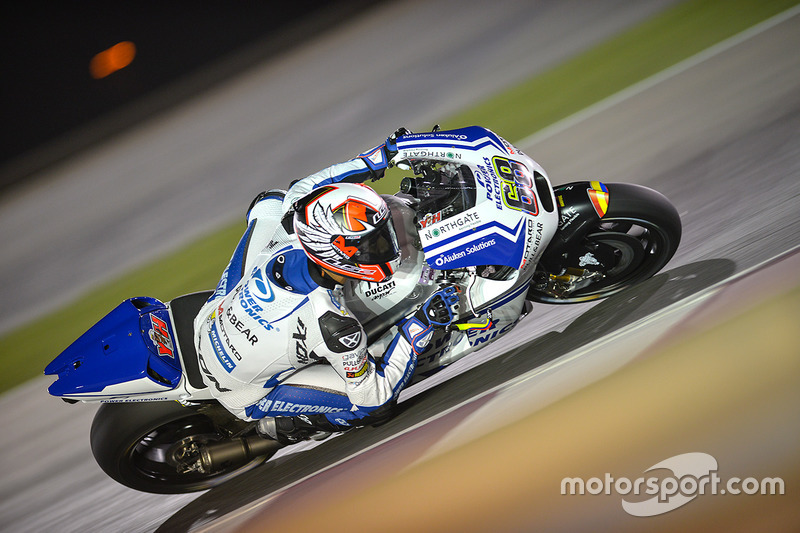 Yonny Hernandez (Ducati), Ausfall