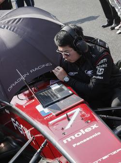 Jérôme D'Ambrosio, Dragon Racing, logo Panasonic