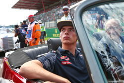 Макс Ферстаппен, Red Bull Racing на параде пилотов