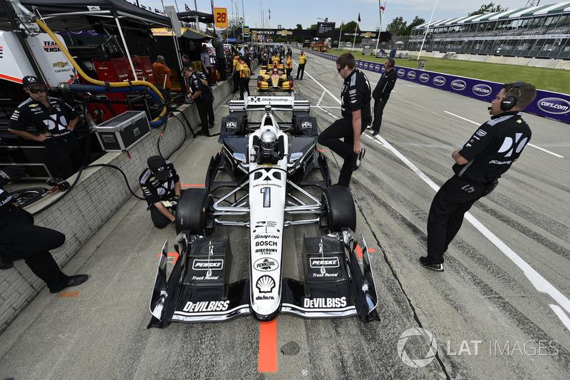 8. Simon Pagenaud, Team Penske Chevrolet
