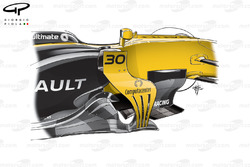 Renault R.S.17 barge boards detailed