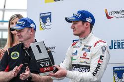 Podium : le meilleurrookie Nelson Mason, Teo Martin Motorsport