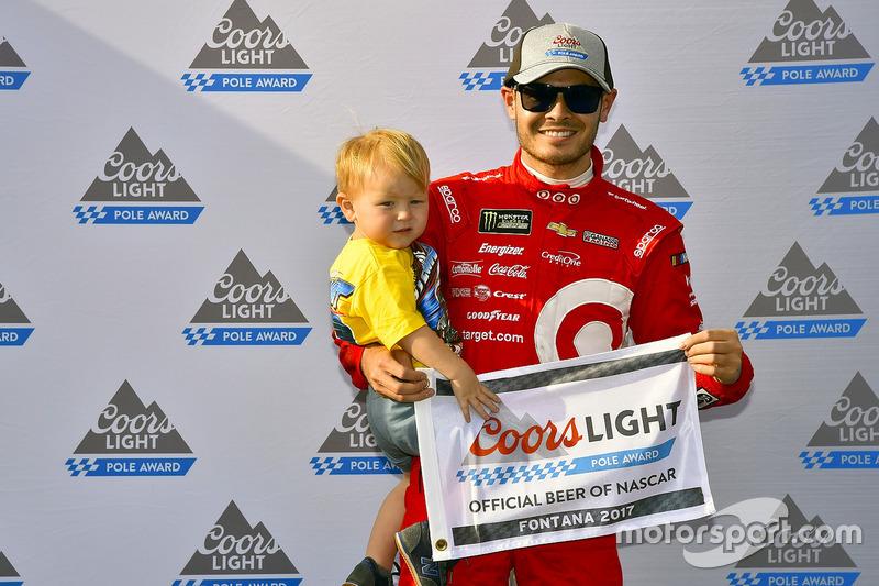 Kyle Larson, Chip Ganassi Racing Chevrolet ganador de la Pole