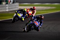 Maverick Maverick Viñales, Yamaha Factory Racing; Valentino Rossi, Yamaha Factory Racing