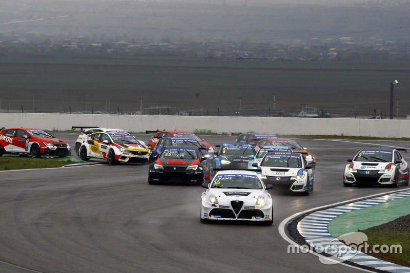 Arrancada, Davit Kajaia, GE-Force, Alfa Romeo Giulietta TCR líder