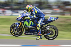 Valentino Rossi, Yamaha Factory Racing, practice start