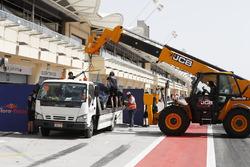 The car of Sean Gelael, Scuderia Toro Rosso STR12