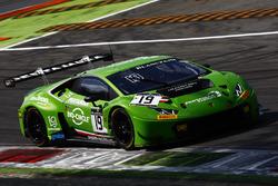 #19 GRT Grasser Racing Team, Lamborghini Huracan GT3: Ezequiel Perez Companc, Norbert Siedler, Raffa