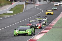 #63 GRT Grasser Racing Team Lamborghini Huracan GT3: Christian Engelhart, Mirko Bortolotti, Andrea C