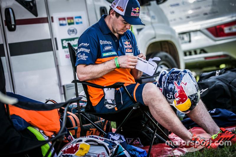 #16 Red Bull KTM Factory Racing: Matthias Walkner