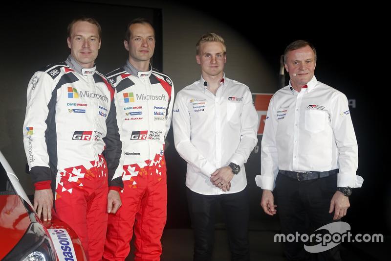 Яри-Матти Латвала, Юхо Хяннинен, Эсапекка Лаппи, Томми Мякинен, Toyota GAZOO Racing, Toyota Yaris WRC