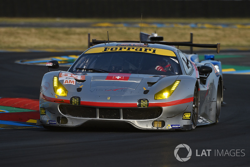 12. LMGTE-Am: #54 Spirit of Race, Ferrari 488 GTE