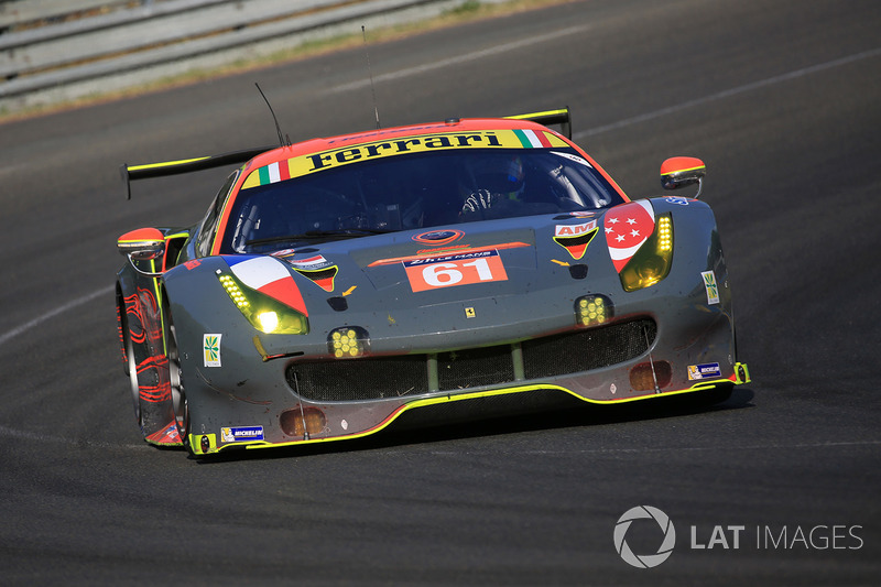 5. LMGTE-Am: #61 Clearwater Racing, Ferrari 488 GTE