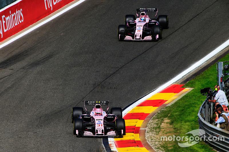 """""""Estávamos tendo uma boa corrida até que Pérez tentou me   matar por duas vezes! Ele não conseguiu, então terminei em   nono."""""""