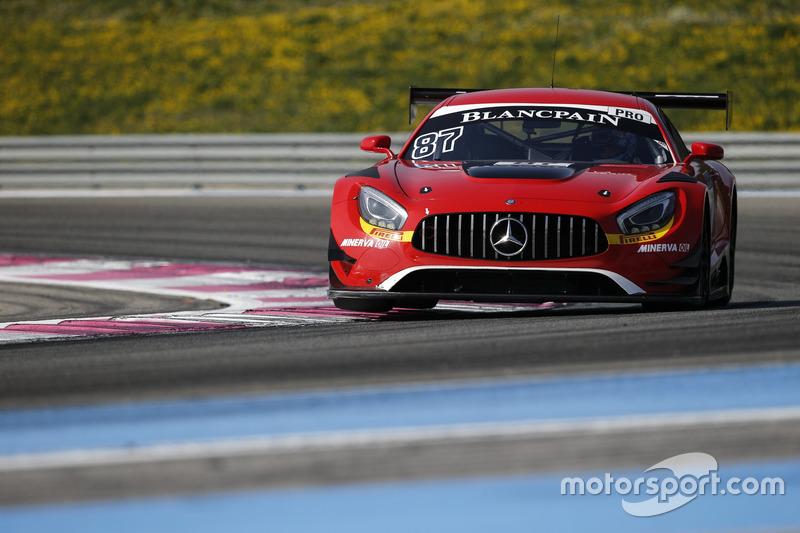 #87 Akka ASP, Mercedes-AMG GT3: Jean-Luc Beaubelique, Jules Gounon