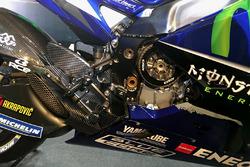 Detalle de la Yamaha YZR-M1 2017
