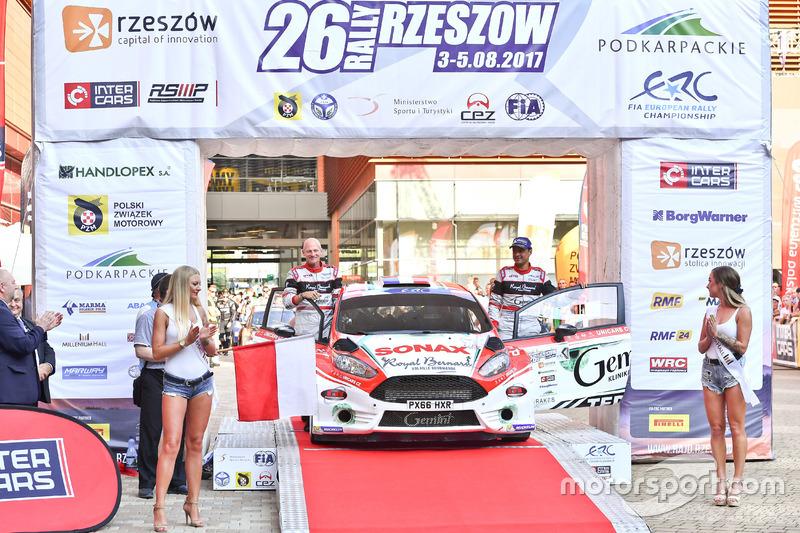 Бріан Буфф'є, Гільбер Діні, Ford Fiesta R5, Gemini Clinic Rally Team