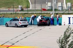 Felipe Massa, Ferrari F2009 crash