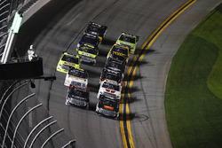 Ben Rhodes, ThorSport Racing Toyota, Christopher Bell, Kyle Busch Motorsports Toyota