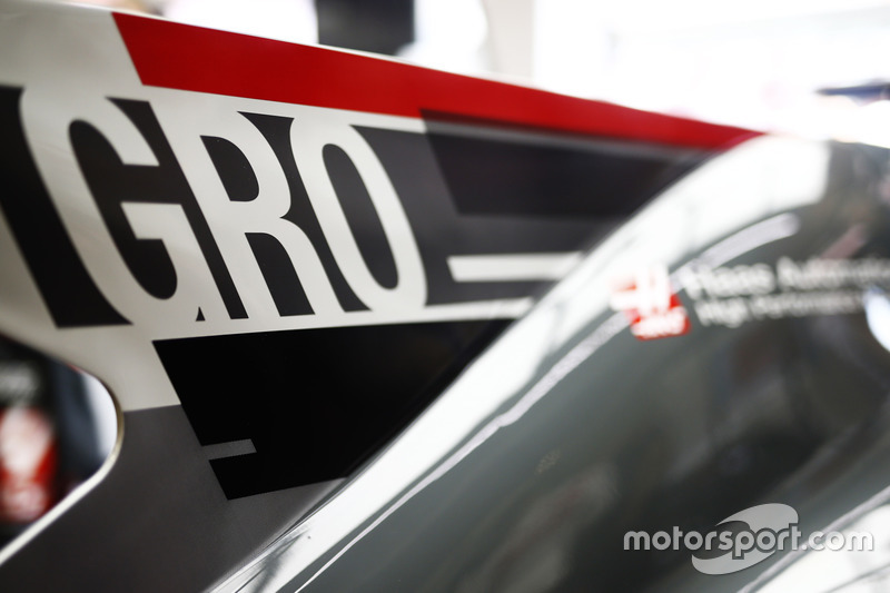 Marcas bajo las nuevas reglas para Romain Grosjean, Haas F1 Team