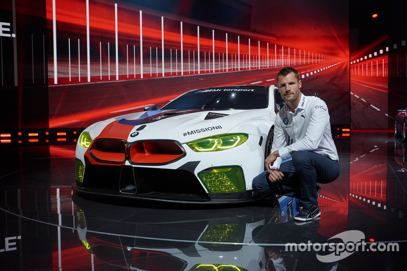 Martin Tomczyk with BMW M8 GTE