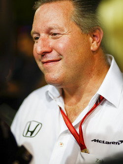 Zak Brown, directeur McLaren Technology Group