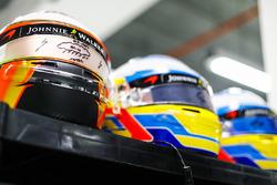 Helmen voor Stoffel Vandoorne, McLaren, Fernando Alonso, McLaren