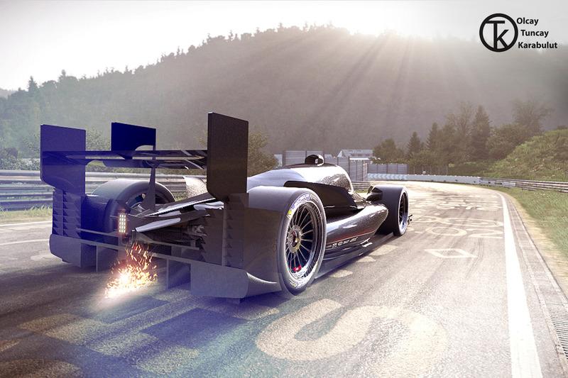 Pikes Peak Racer, Fantezi konsept tasarım