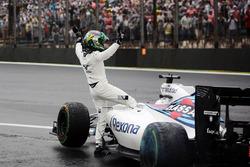 После аварии: Фелипе Масса, Williams FW38