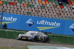 Maro Engel, Mercedes-AMG Team HWA, Mercedes-AMG C63 DTM in the gravel