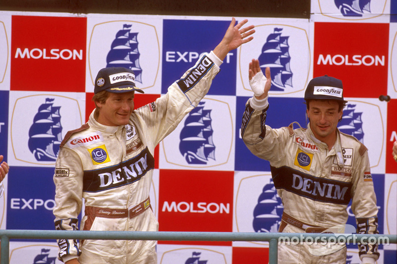 #8 : Thierry Boutsen, GP Canada 1989 (95 courses)