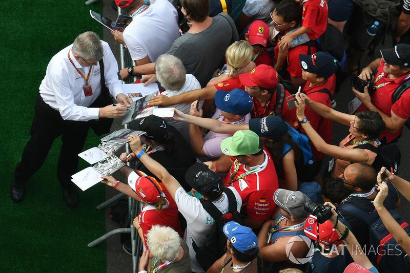 Росс Браун, керуючий директор Motor Sports F1