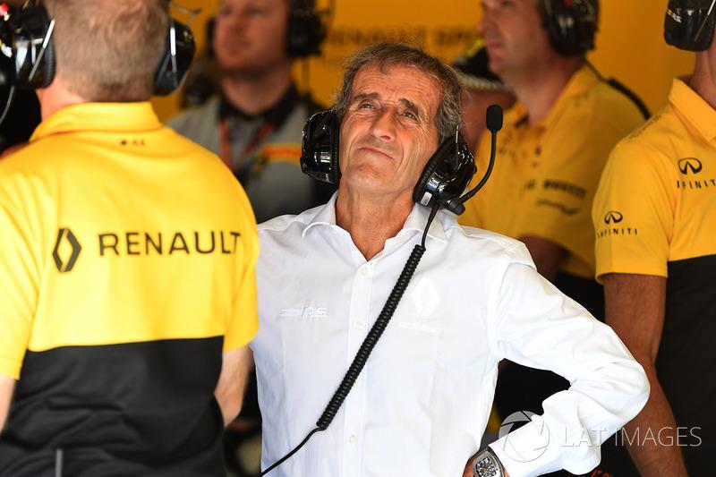 Alain Prost, consejero especial de Renault Sport F1 Team