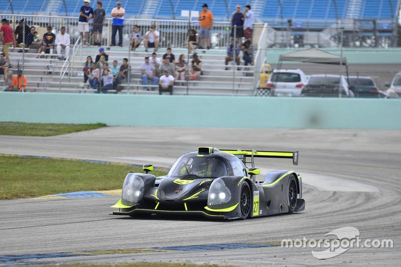 #27 FP1 Ligier LMP3 driven by Guy Cosmo & Patrick Byrne of LMP Motorsports