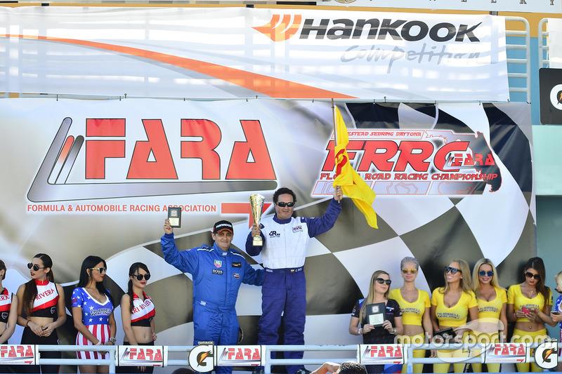 #6 MP3B Mazda 6 driven by Carlos Grimaldos of Scuderia Shell Burbank, Camilo Rico of Scuderia Shell Burbank