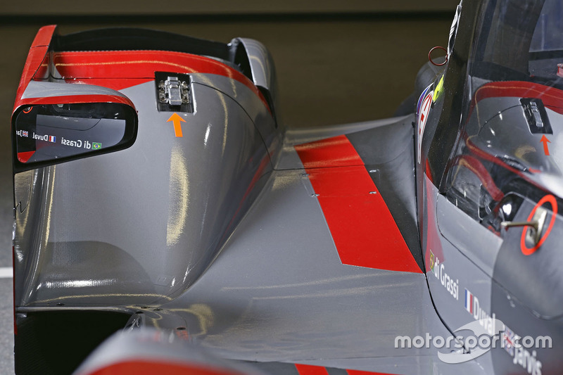 #8 Audi Sport Team Joest Audi R18 detalle